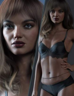 RY Inessa Character, Hair and Render Bundle