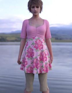 dForce Capri Outfit for Genesis 8 Females
