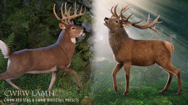 CWRW LAMH: Red Stag and Whitetail Deer Presets