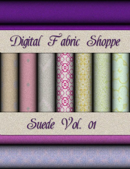 Digital Fabric Shoppe - Suede Vol 01