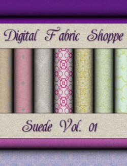Digital Fabric Shoppe- Suede Vol 01