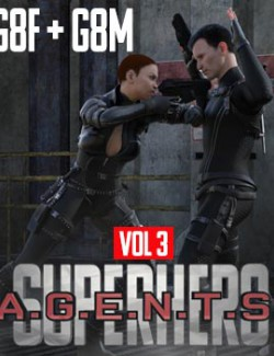 SuperHero Agents for G8F and G8M Volume 3