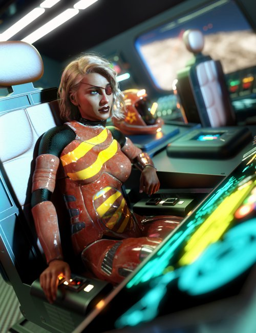 X 300 Star Chaser Starship
