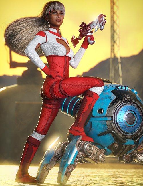 X-Fashion Sci Bodysuit 09 for Genesis 8 Females