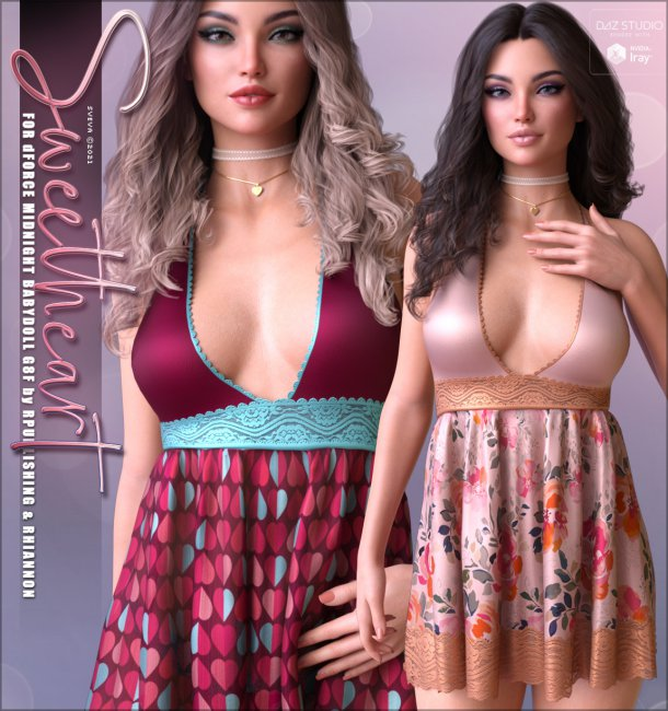 Sweetheart for dForce Midnight Babydoll G8F
