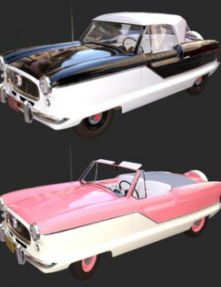 NASH METROPOLITAN BUNDLE for DAZ