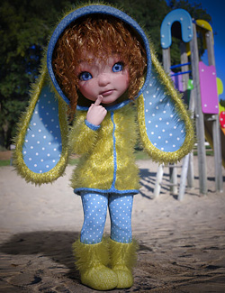 dForce BunnyBoo Outfit for Bugga Boo
