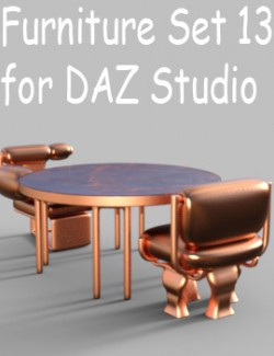 Furniture Set 13 for DAZ Studio