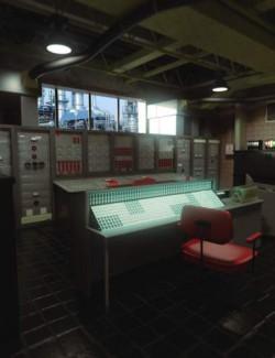 Retro Control Room
