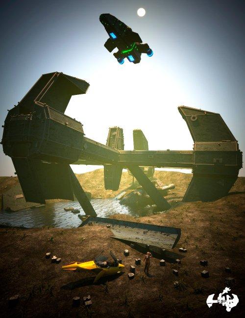 Cargo Ship Fallen
