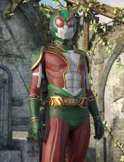 Thunder Rider Lightning Outfit for Genesis 8 and 8.1 Males