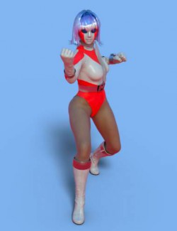 dForce MF Outfit for Genesis 8 and 8.1 Females