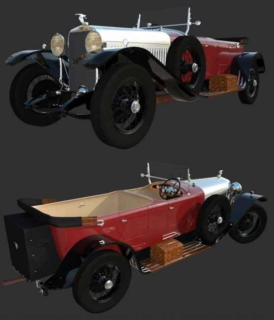 HISPANO SUIZA H6B for DAZ
