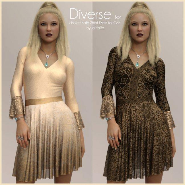 Diverse for dForce Kate Short Dress