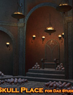 Skull Place for Daz Studio