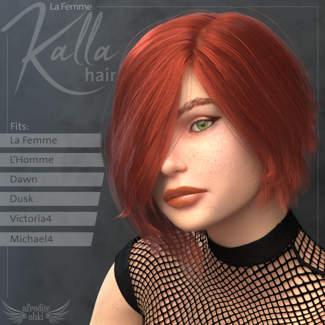 Kalla Hair for La Femme and more