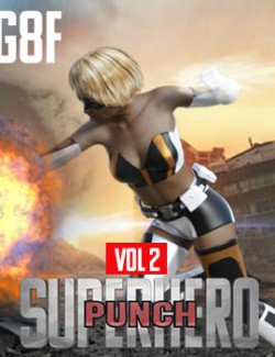 SuperHero Punch for G8F Volume 2