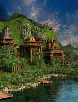 Valley of the Cliffs Village-World and Village Builder