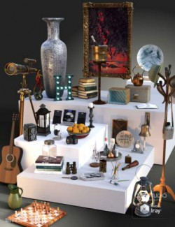 Collection of Decor Objects