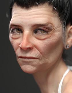 Olivya 'The Granny' May HD for Genesis 8 Female