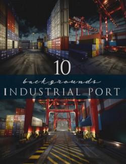 Industrial Port Backgrounds