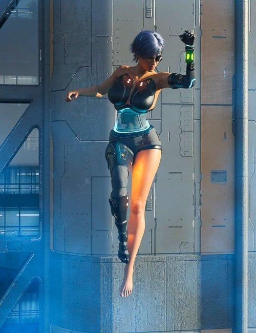 DIY Cyborg Outfit for Genesis 8 Females
