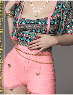 Stylish For dForce Miya Short Overalls