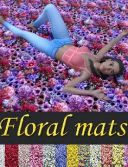 NM Flowers mats