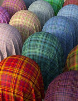 Wool Tartan Cloth Iray Shaders
