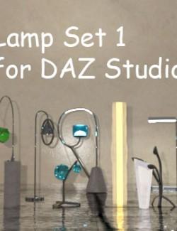 Lamp Set 1 for DAZ Studio