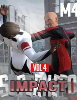 SuperHero Impact for M4 Volume 4