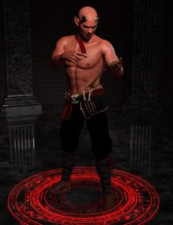 Daemon Poses for Genesis 8 Male