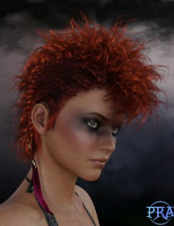 Prae-Vyke Hair For G8 Daz