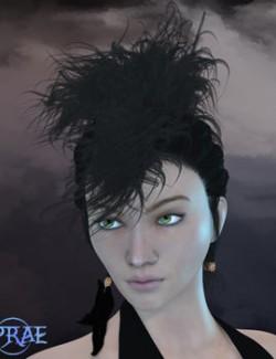Prae-Vyke Hair For La Femme Poser