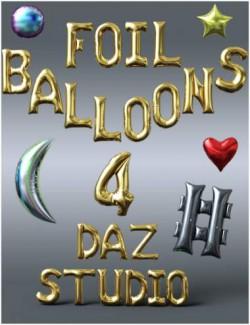 Foil Balloons Props
