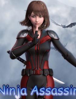 fantasy anime outfit 8 _ Ninja Assassin _ for G8F