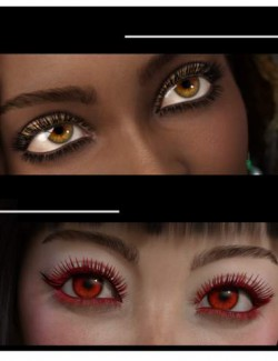 Simple Lashes Merchant Resource for Genesis 8.1