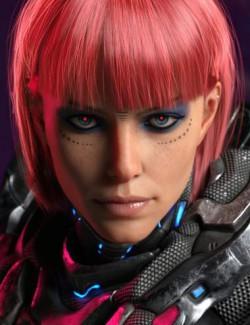E.V.E Enhanced Virtual Entity HD for Genesis 8 Female