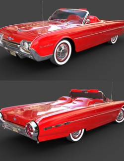 FORD THUNDERBIRD 1962 for DAZ