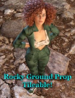 Rocky Ground Tileable Prop For Daz Studio Iray