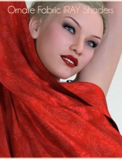 Ornate Fabric IRAY Shaders