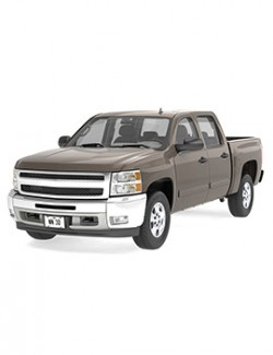 GENERIC CREW CAB PICKUP TRUCK 19- EXTENDED LICENSE