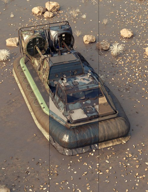 To Serve for the Rescue Hovercraft
