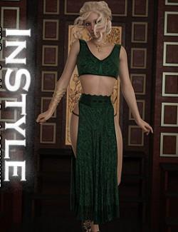 InStyle - JMR dForce Sarah Long Dress for G8F