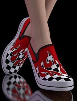 Sneakers for Genesis 8.1 & Victoria 8.1