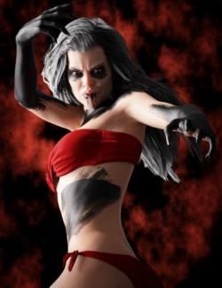 Devilish Makeup for Genesis 8 and 8.1