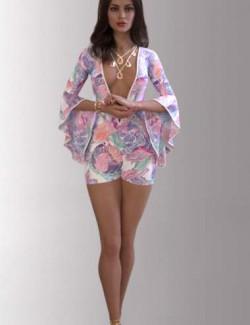 dForce Lea Homewear Outfit for Genesis 8.1 Females
