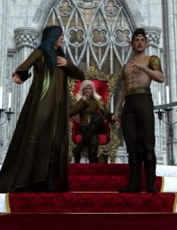 High Elf Poses for Genesis 8 and Genesis 8.1 Male