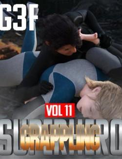 SuperHero Grappling for G3F Volume 11