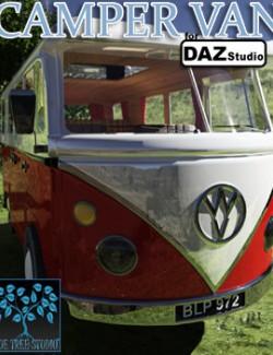 Camper Van for Daz Studio